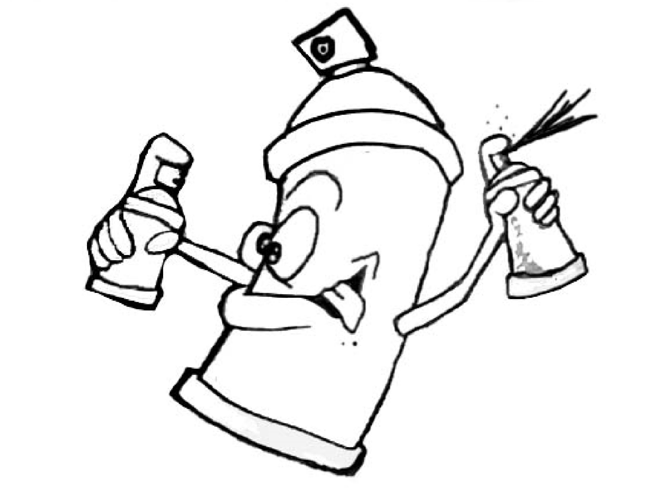 2592x1912 draw cartoon spray cans graffiti spray cans cartoon graffiti cans