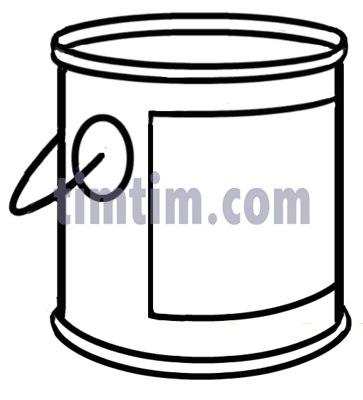 510x562 Huge Collection Of 'paint Can Drawing' Download More Than