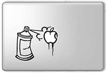 425x294 Idecalworks Spray Paint Apple Graffiti