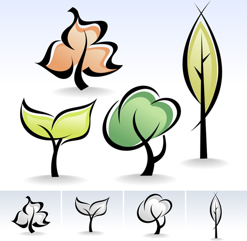 500x488 Drawing Cute Tree Vector Graphics Free Vector In Encapsulated