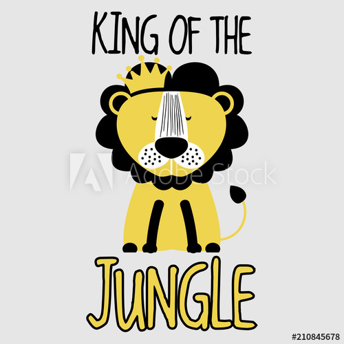 500x500 King Of The Jungle Lion
