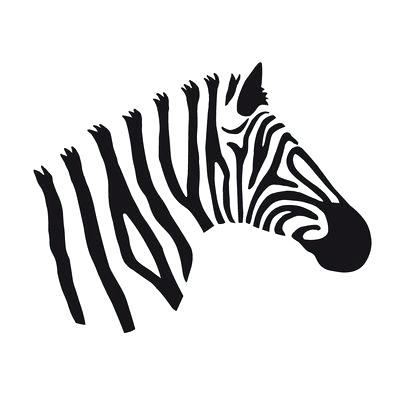 400x400 cute zebra drawing graphic zebra art print cute easy zebra drawing