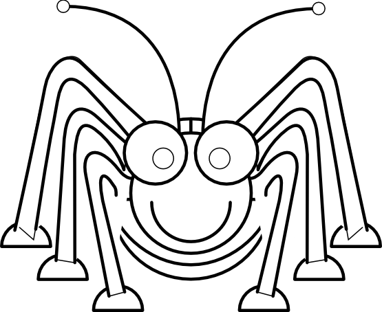 555x454 Grasshopper Clip Art Free Library Line Drawing Huge Freebie