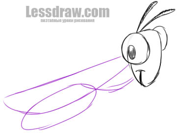 361x271 How To Draw A Grasshopper In Stages Easy