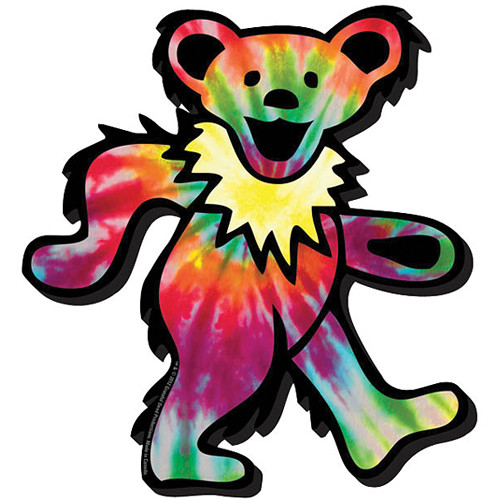 500x500 chunky magnet grateful dead tie dyed bear logo chunky bamph