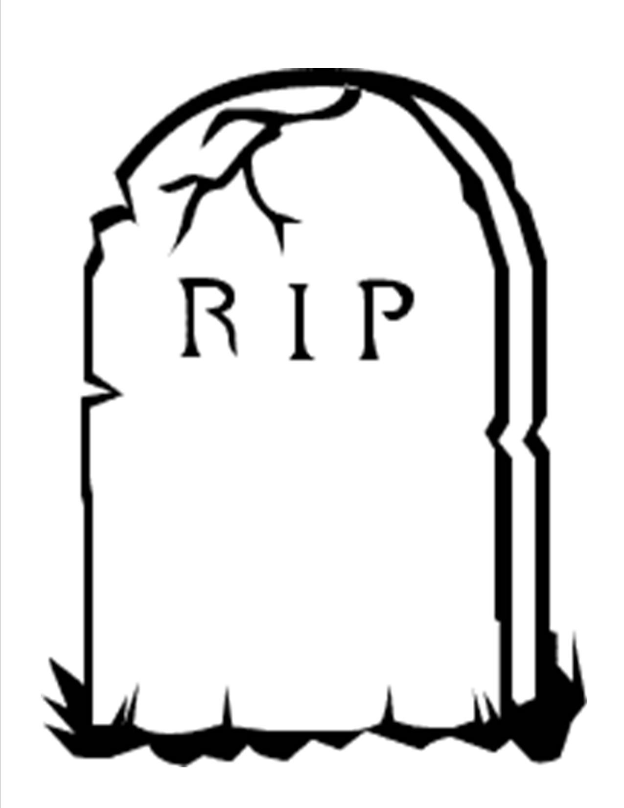 1275x1650 Tombstone Drawing Grave For Free Download