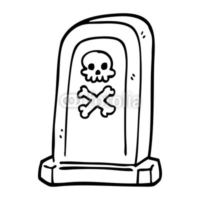400x400 Line Drawing Cartoon Spooky Victorian Grave Buy Photos Ap