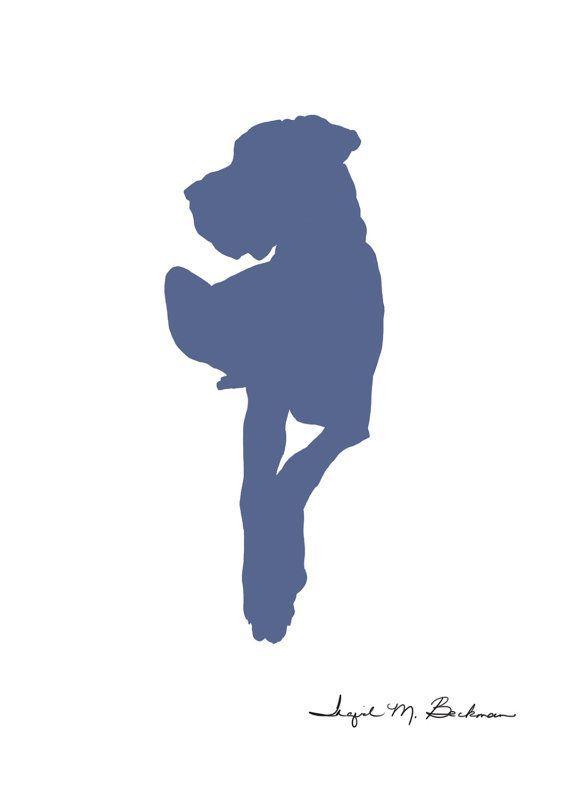570x798 great dane, great dane drawing, dog silhouette, dog print, dog art
