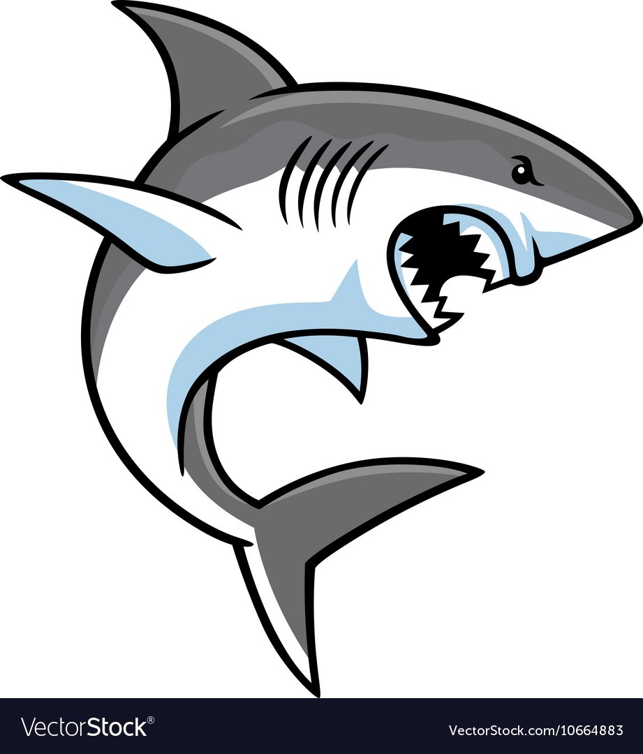 Great White Shark Drawing | Free download on ClipArtMag