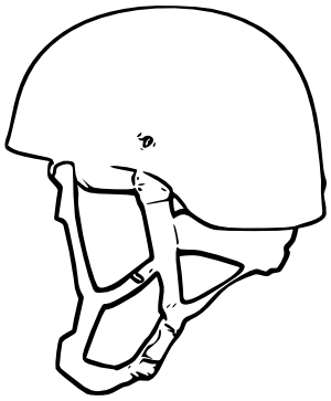 Greek Helmet Drawing