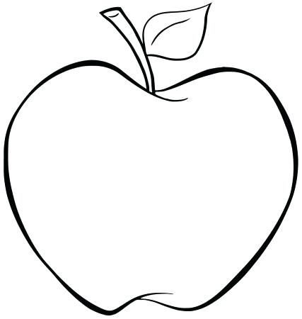 427x450 apple outline outlined apple stock photo green apple outline