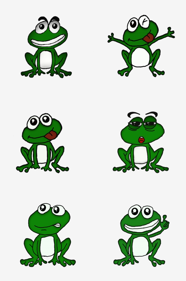 640x967 frog green frog expression green frog, cute frog, qq expression
