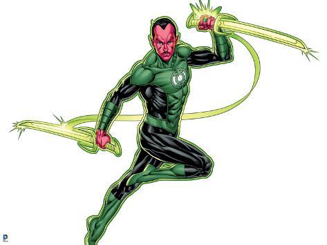 473x355 Green Lantern Green Lantern Sinestro Using Ring Posters