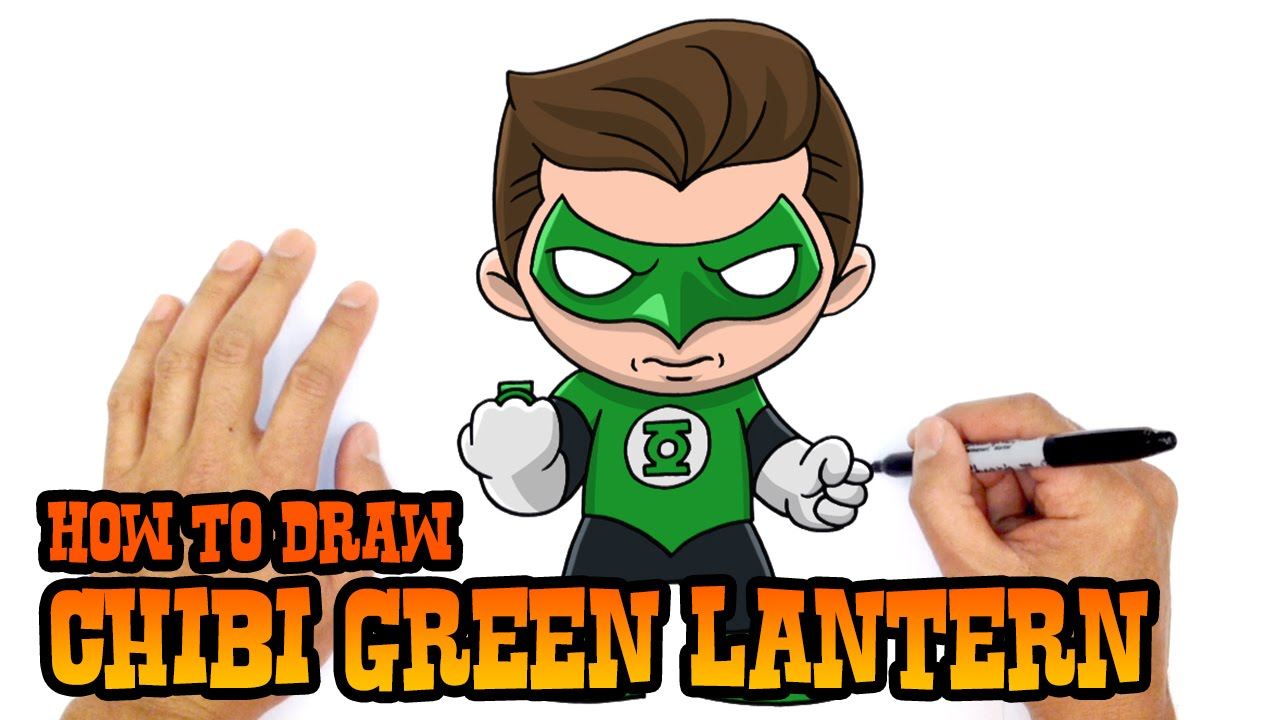 1280x720 How To Draw Green Lantern Justice League