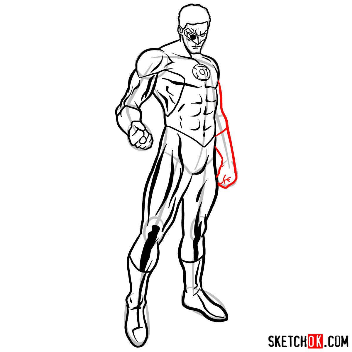 1200x1200 How To Draw Hal Jordan As Green Lantern