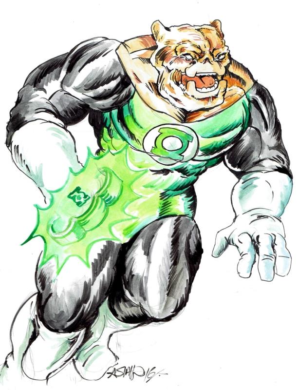 612x800 Kilowog Green Lantern, In Brendan Montgomery's Brendan Montgomery