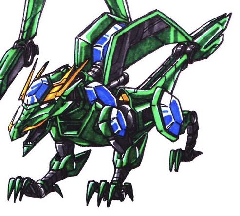 493x444 Dragonzord