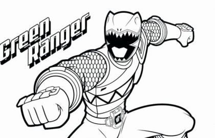 420x270 Free Power Ranger Coloring Pages Luxury Coloring Pages Online