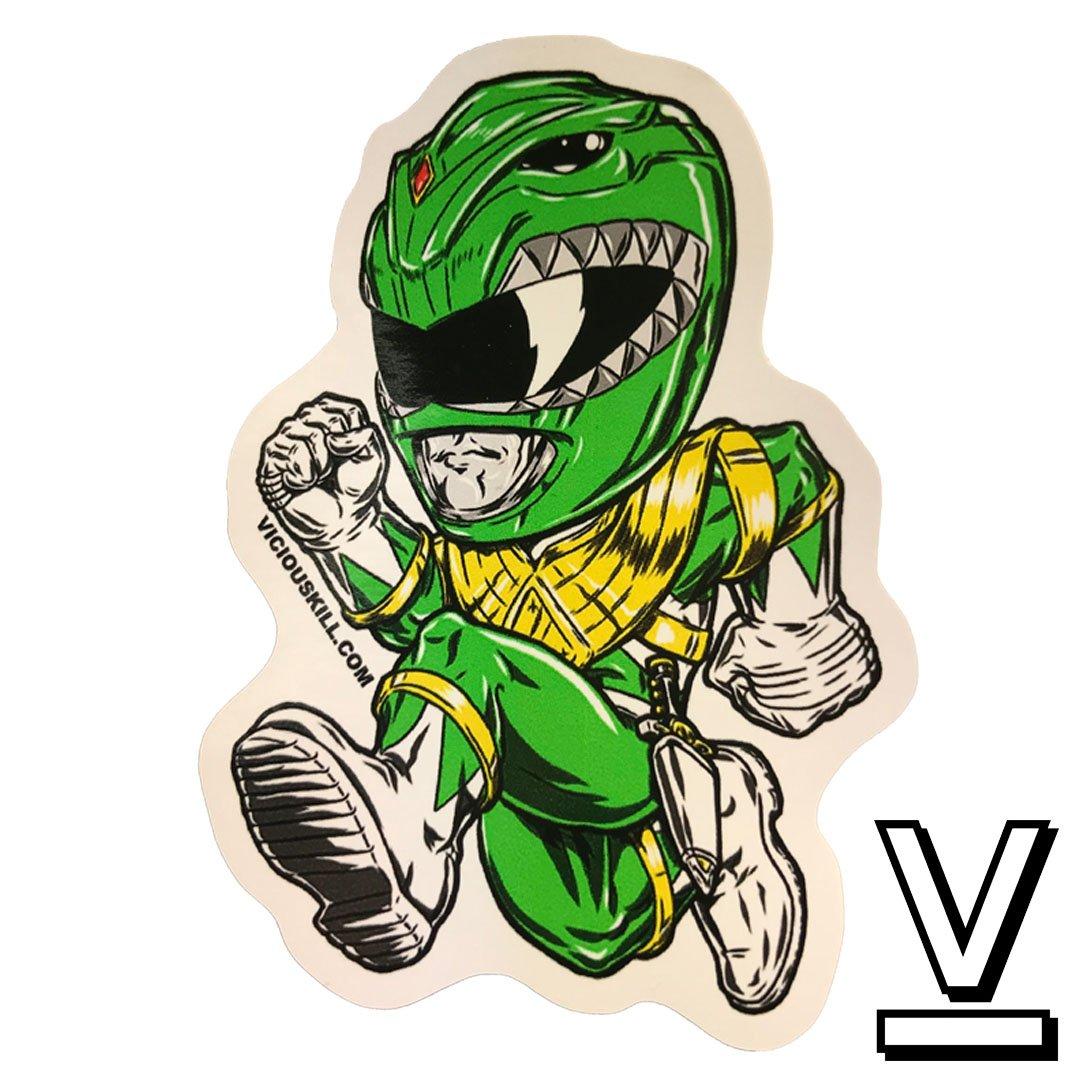 1080x1080 Green Ranger Decal Viciouskill