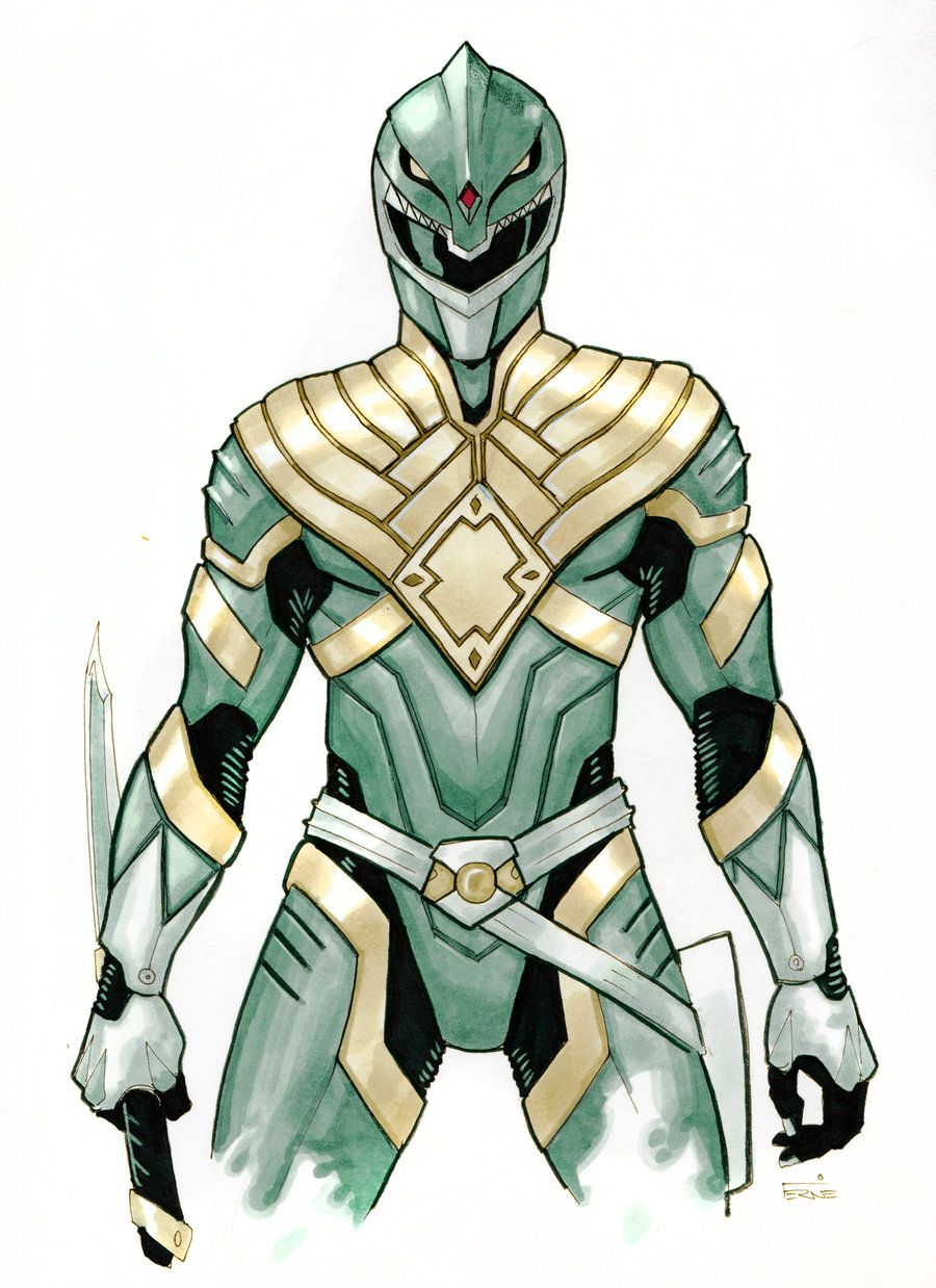 900x1238 Green Ranger Redux