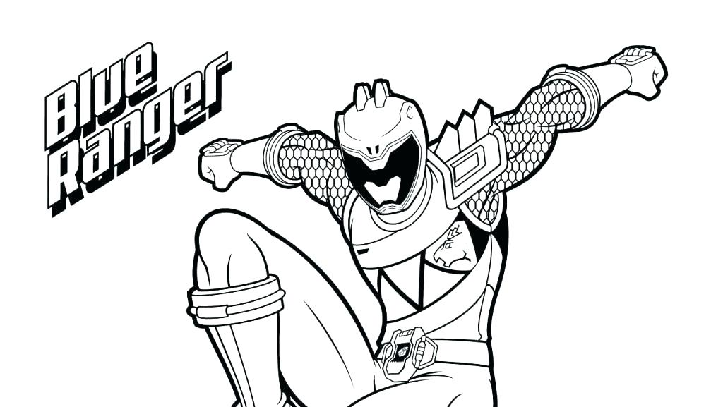 1024x577 Power Rangers Coloring Pages Printable Free Megaforce Ranger