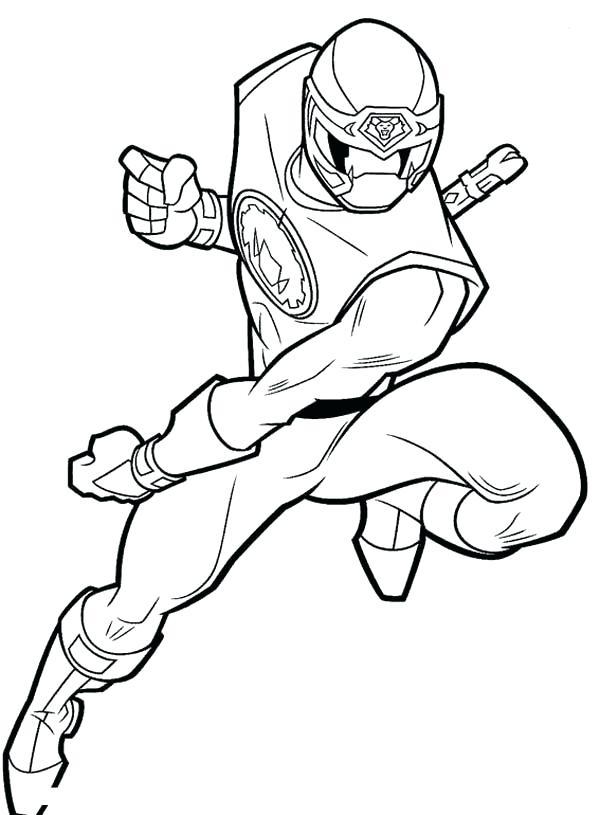 600x815 Fighting Drawing Ninja For Free Download
