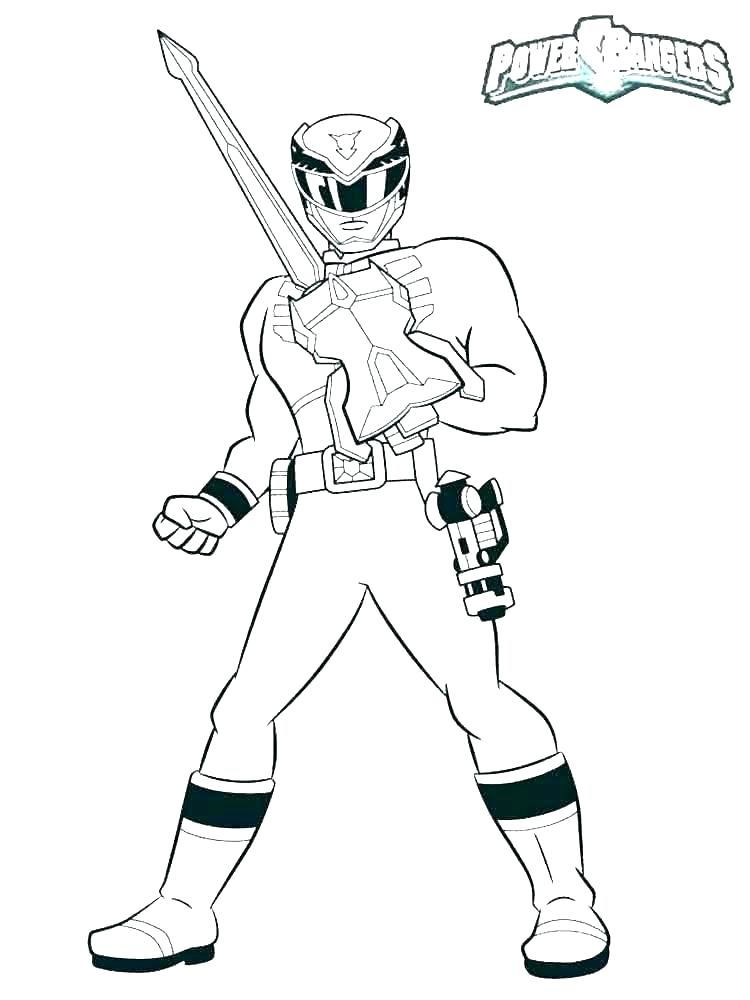 750x1000 Power Rangers Super Samurai Coloring Pages To Print
