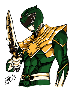 298x350 Collection Of Free Coin Drawing Green Ranger Power Download On Ui Ex