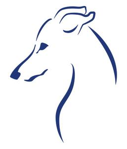 257x300 Italian Greyhound Sticker Emoticon Kangaroo Leather Show Leads