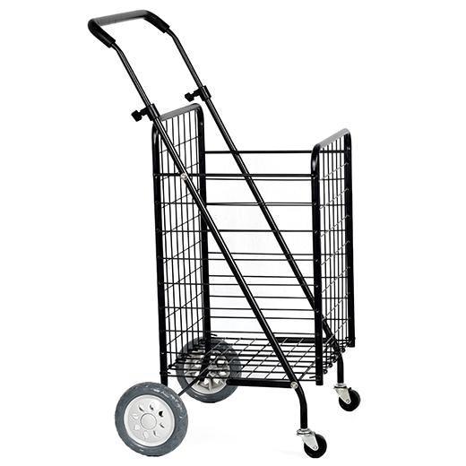 520x520 higher backside design grocery cart folding shopping cart