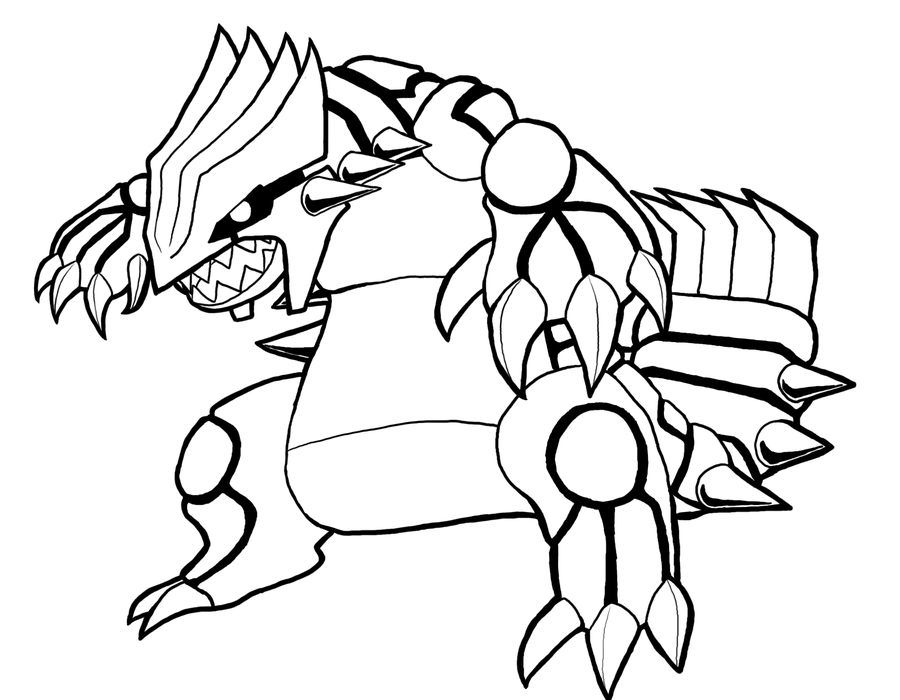 Groudon Drawing Free Download On Clipartmag