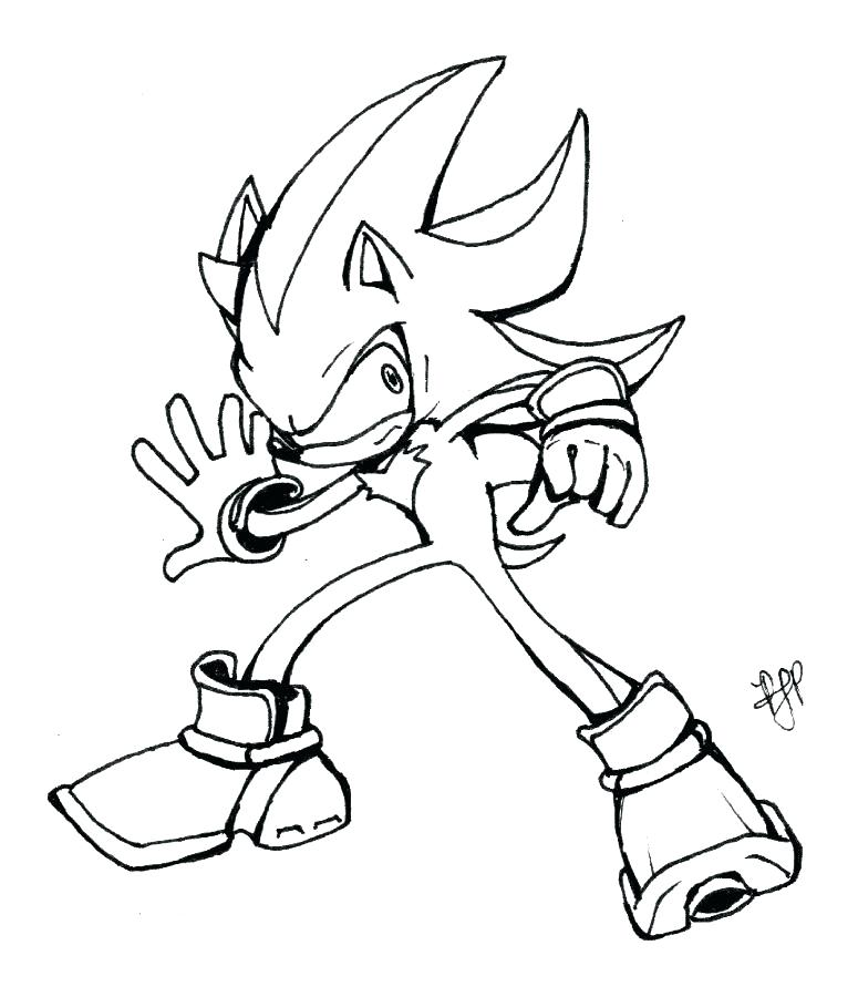 775x900 shadow coloring pages shadow the hedgehog inks