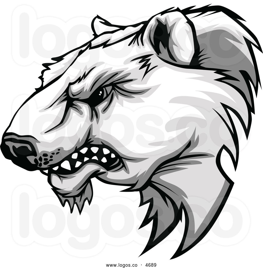1024x1044 growling bear clip art growling bear drawing