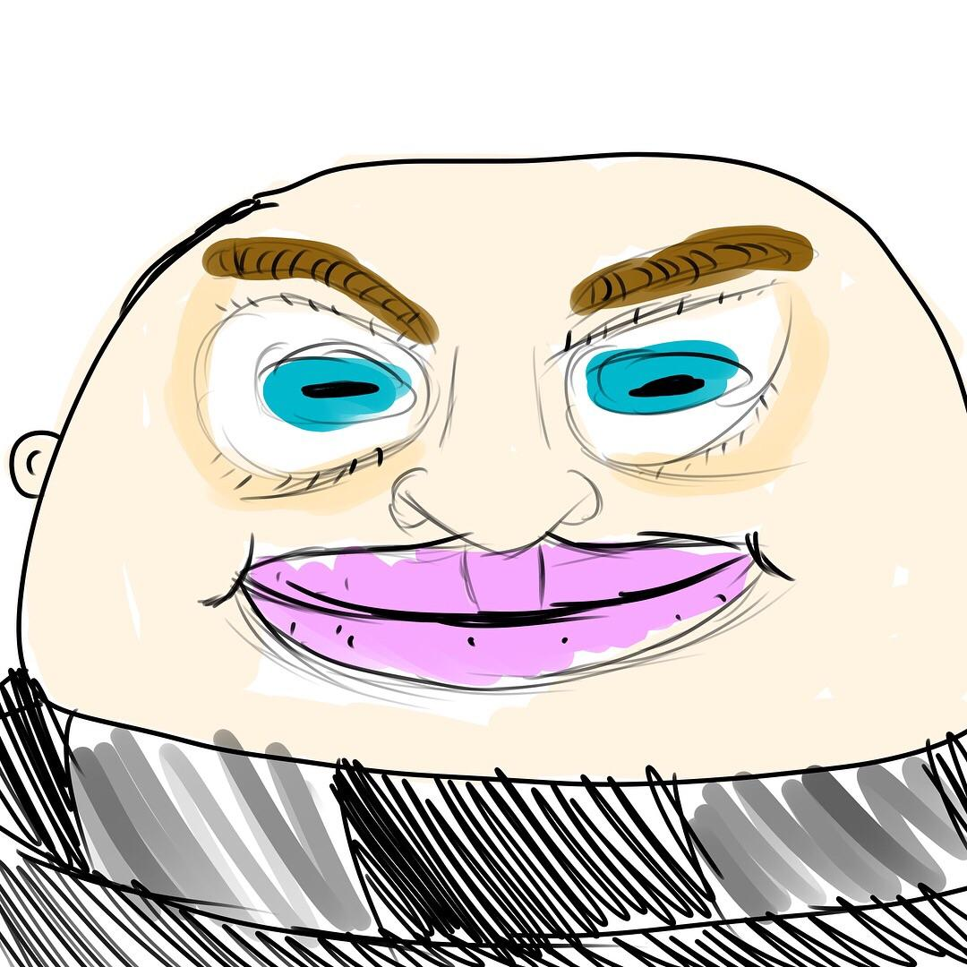 1080x1080 would doodles of gru be called, grudles doodles