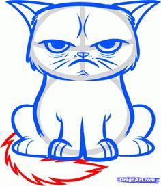 236x272 best grumpy cat cartoon images grumpy cat cartoon, cat