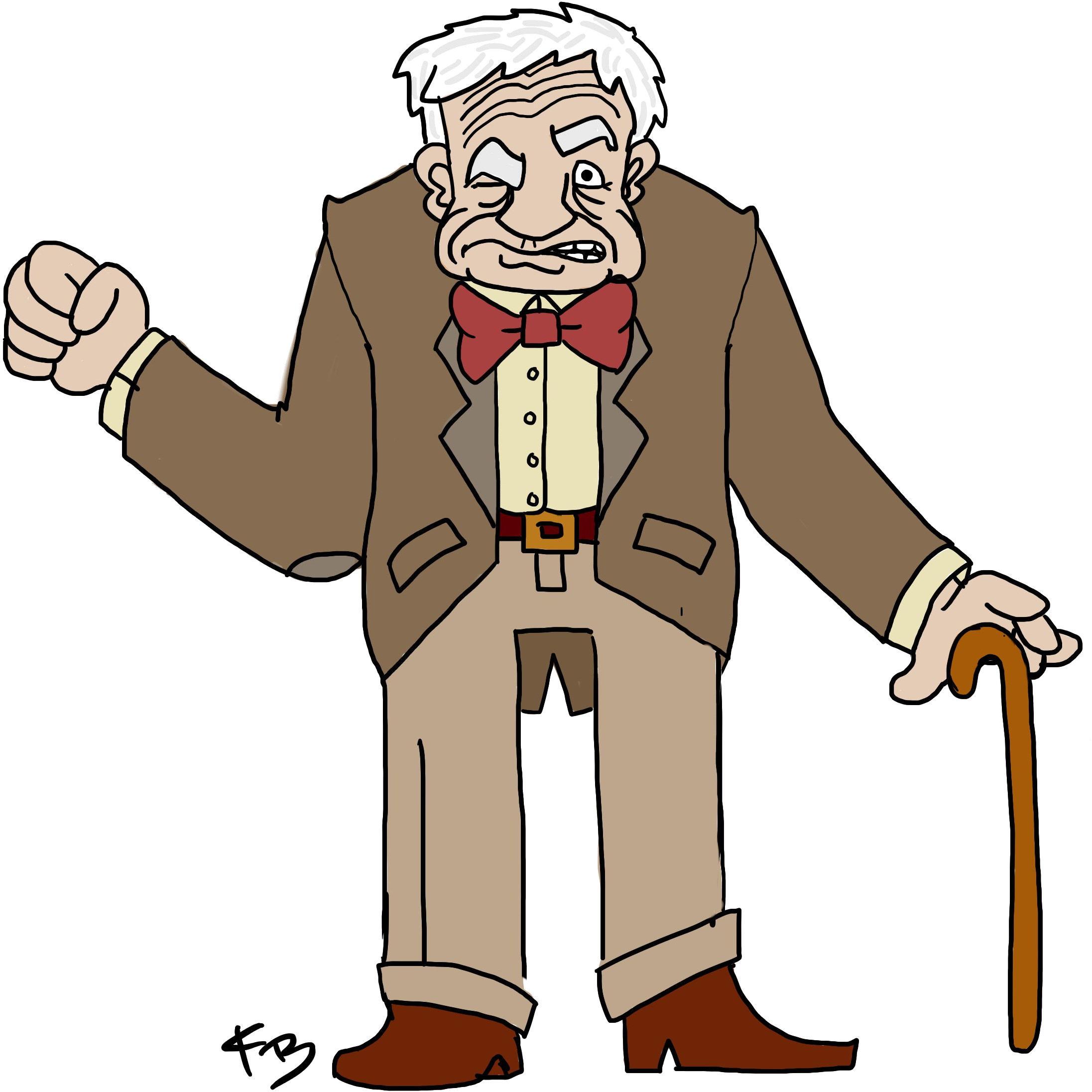 2193x2193 Old Man Cartoon Transparent Png Clipart Free Download