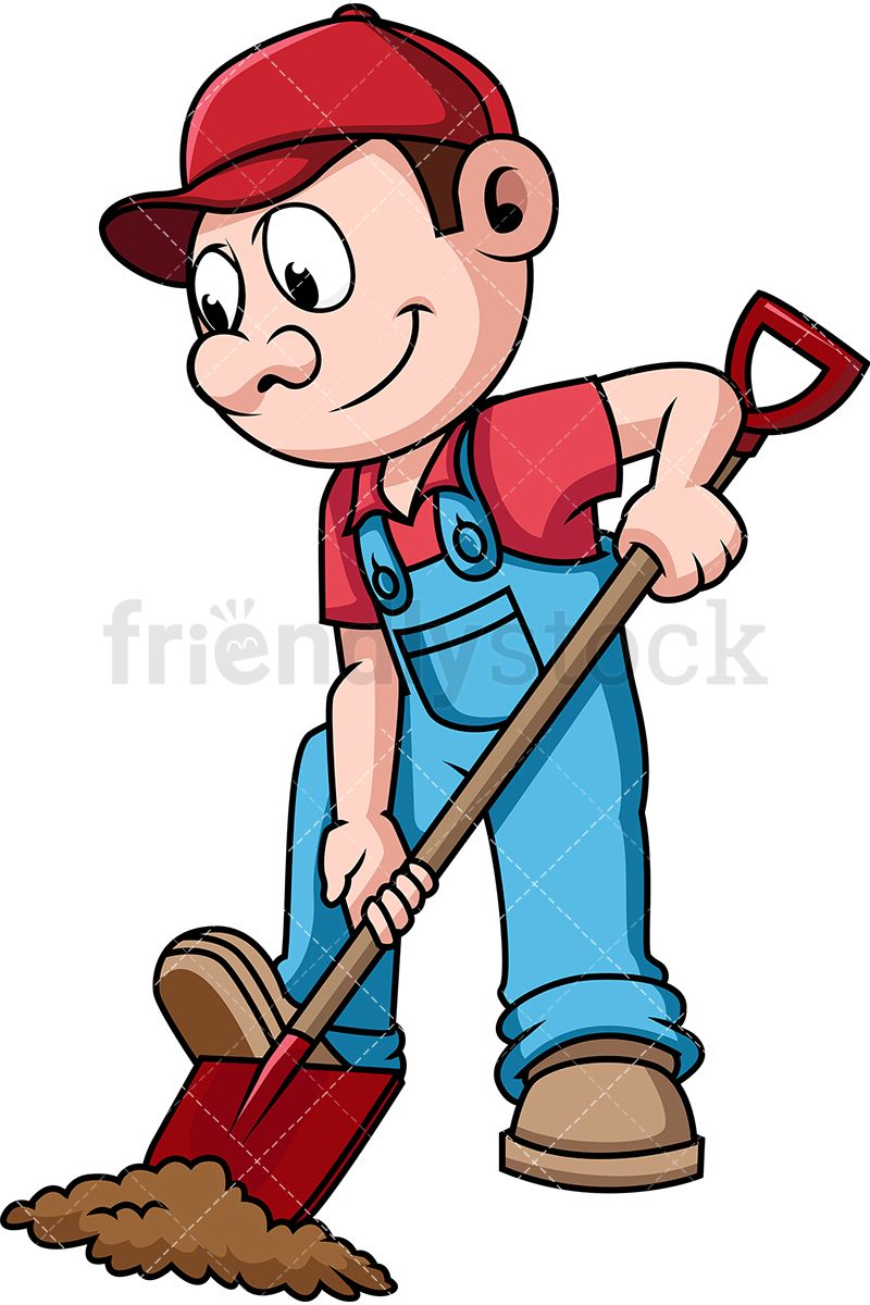 800x1200 Angry Old Man With Shovel Clipart Clip Art Images