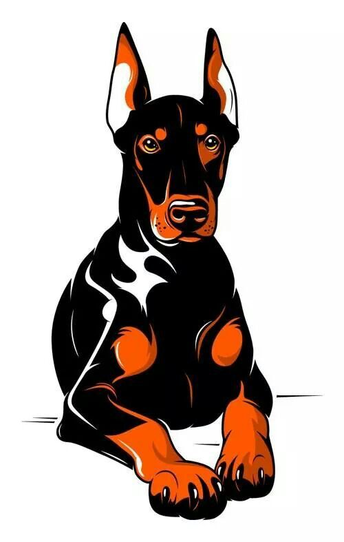 Collection Of Doberman Clipart