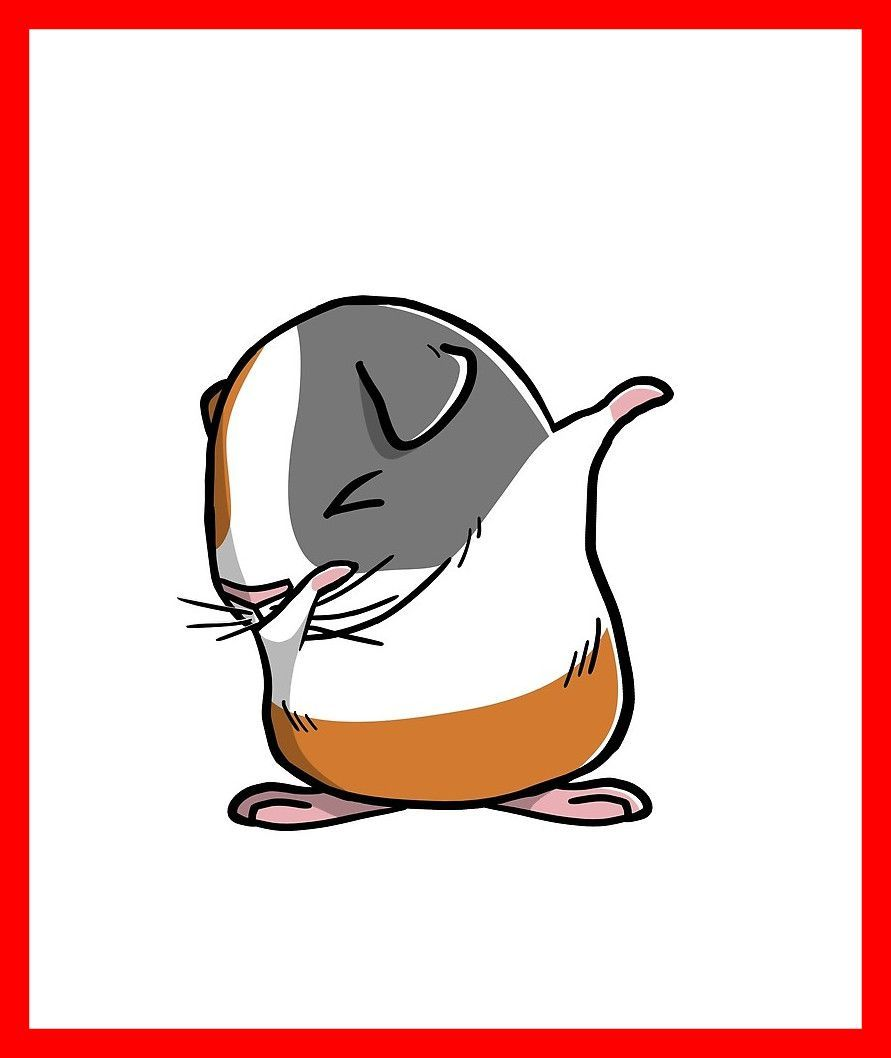 891x1058 Cartoon Guinea Pig Wallpapers
