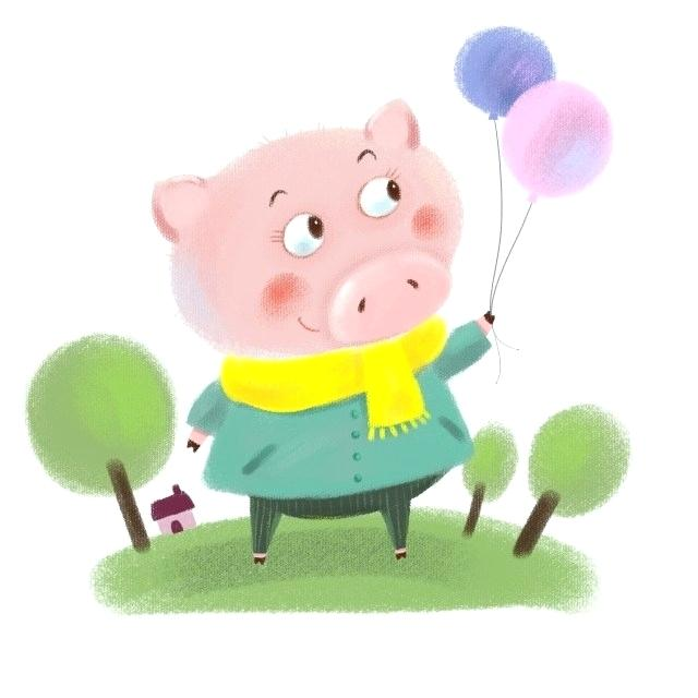 640x640 Cartoon Pig Drawing Cartoon Pig Face Drawing