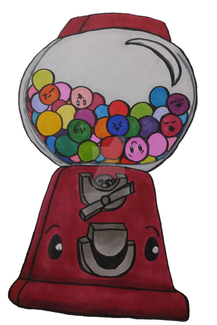 Gumball Machine Drawing