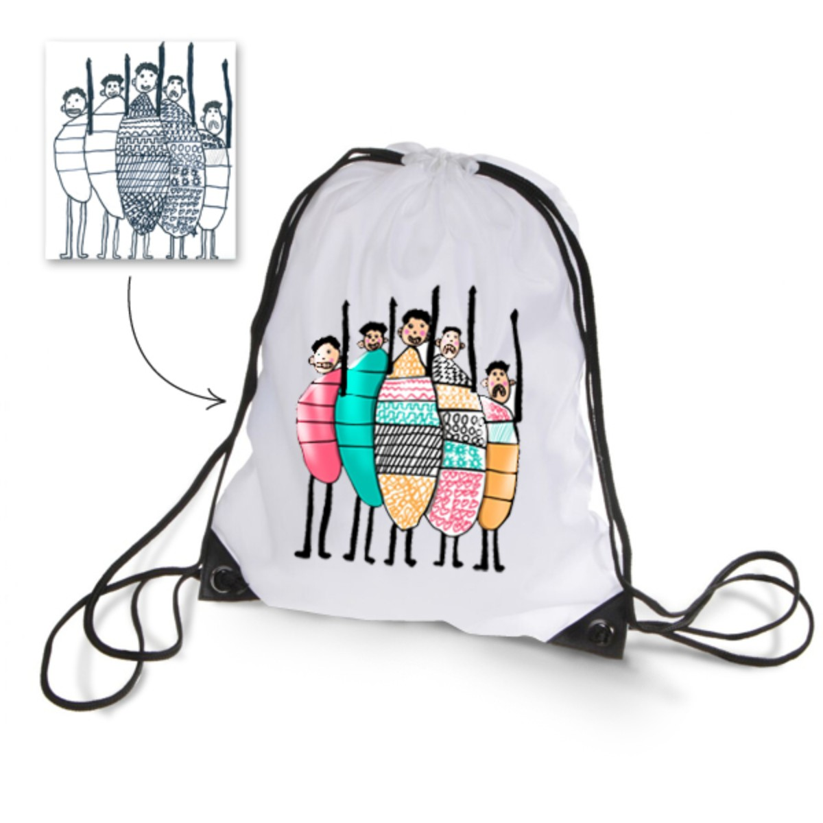1200x1200 gym fitness gym bag scribblemagiclab