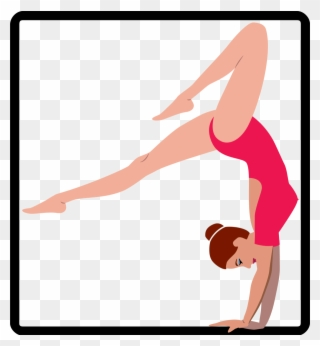 320x346 Gymnastics Clipart Easy
