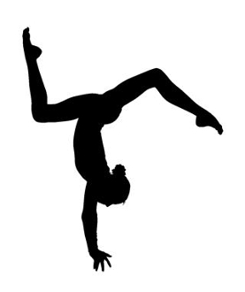 277x330 Gymnastics Floor Decal Sticker