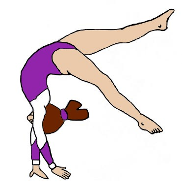 371x384 How To Draw A Girl Gymnast