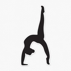 236x236 Fascinating Gymnastics Silhouettes Images Silhouette