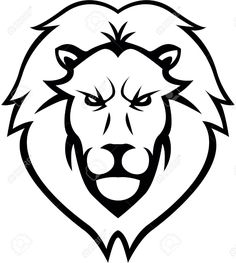 Simple Lion Tattoo Tattoo Image Collection Modern, unique, simple and nice lion king head logo using calligraphy brush style lion outline tribal embroidery design in 3x3 4x4 and 5x7 sizes. tattoo image collection