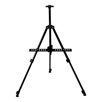 355x355 saveonmany adjustable portable art easel metal telescopic