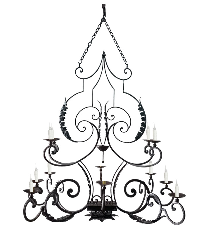 705x793 ch double tier twelve light chandelier