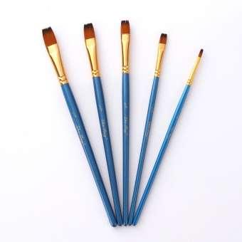 340x340 mrosaa set watercolor gouache brushes aimed flat tip hair nylon